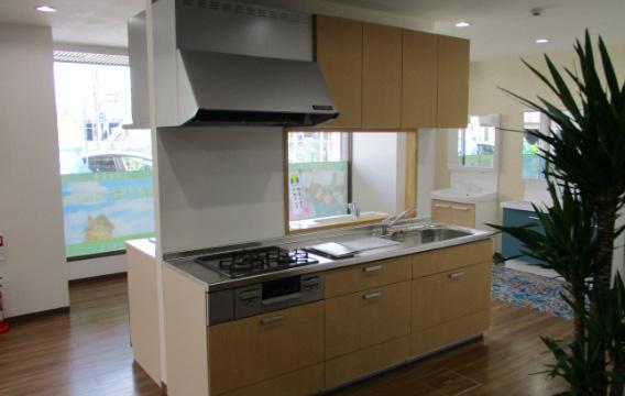 キッチン展示スペース