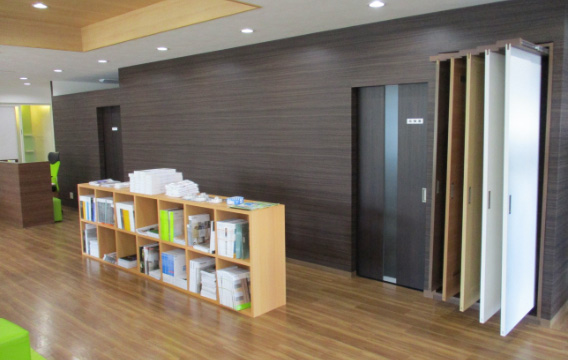 建具展示スペース